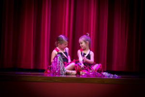 2 Little Fairy Feet Dancers admiring their medals